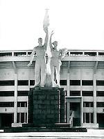 Stadion in Peking, China 1989