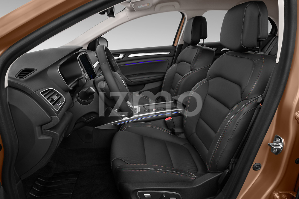 Front seat view of 2020 Renault Megane Edition-One 5 Door Hatchback Front Seat  car photos