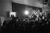 Saint Cloud, France.May 5, 2002..The home of Jean-Marie Le Pen where press and friends gather to hear the election returns of the presidential race between Mr. Le Pen and Mr. Chirac. Le Pen loses by a 17.5 to 92.5 margin.