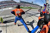 2017 NASCAR Xfinity Series - Boyd Gaming 300<br /> Las Vegas Motor Speedway - Las Vegas, NV USA<br /> Saturday 11 March 2017<br /> Kyle Busch, NOS Energy Drink Toyota Camry pit stop<br /> World Copyright: Nigel Kinrade/LAT Images<br /> ref: Digital Image 17LAS1nk04807