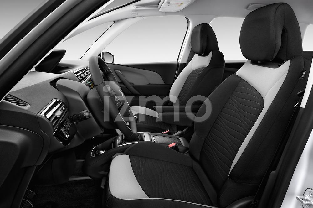 Front seat view of a 2013 Citroen GRAND C4 PICASSO Intensive 5 Door Minivan 2WD