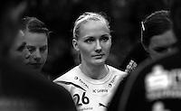 Handball 1. Bundesliga Damen / Frauen - HC Leipzig (HCL) : FA (Frischauf) Göppingen - Arena Leipzig - im Bild:  Stefanie Hummel (HCL). Foto: Norman Rembarz..