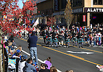 The crowd enjoys the annual Nevada Day parade in Carson City, Nev. on Saturday, Oct. 29, 2016. <br />Photo by Cathleen Allison