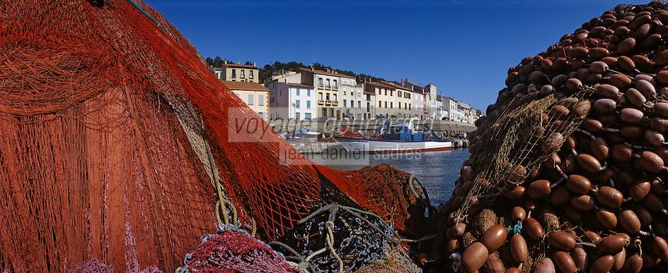 Europe/France/Languedoc-Roussillon/66/Pyrénées-Orientales/Port-Vendres: le port