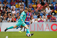 Thomas Kraft of Hertha Berlin clearing the ball during the pre season friendly match between Crystal Palace and Hertha BSC at Selhurst Park, London, England on 3 August 2019. Photo by Carlton Myrie / PRiME Media Images.