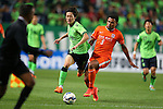 Jeonbuk Hyundai Motors vs Shandong Luneng during the 2015 AFC Champions League Group E match on May 06, 2015 at the Jeonju World Cup Stadium in Jeonju, Korea. Photo by Takefumi Tsutsui / World Sport Group