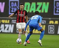 Milano  21-04-2021<br /> Stadio Giuseppe Meazza<br /> Serie A  Tim 2020/21<br /> Milan - Sassuolo<br /> Nella foto: Diogo Dalot                                     <br /> Antonio Saia Kines Milano