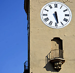 At the Clock Tower