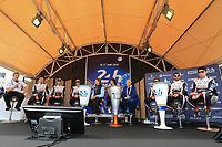 #8 TOYOTA GAZOO RACING (JPN) TOYOTA TS050 HYBRID LMP1 SEBASTIEN BUEMI (CHE) KAZUKI NAKAJIMA (JPN) FERNANDO ALONSO (ESP) #7 TOYOTA GAZOO RACING (JPN) TOYOTA TS050 HYBRID LMP1 MIKE CONWAY (GBR) JOSE MARIA LOPEZ (ARG) KAMUI KOBAYASHI (JPN)