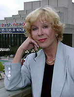 Montreal, 1999-08-27. The Swedish actress Bibi Andersson who preside the jury, on the first day of the 1999 World Film Festival in Montreal.<br /> First casted by Ingmar Bergman in a 1951 soap commercial, she quickly became one of his leading actesss, she also worked with many other movie directors such as Robert Altman and in theater and televisions dramatics classics.<br /> This year, the jury members are : Percy Adlon ; German director (Bagdad Cafe, Salmonberries, ...), Charlotte Laurier, Canadian actress, Mario Monicelli ;  Italian director, Pat O'Connors ;  Irish director and producer(Cal, Dancing at Lughnasa), Stephen Rea ;  Irish Actor (The Crying Game) and Fernando Solanas ;  Argentina director.<br /> Photo : (c) Pierre Roussel, 1999<br /> KEYWORDS :  Bibi Andersson, celebreties, cinema, World Film Festival, Montreal.