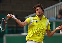 11-07-13, Netherlands, Scheveningen,  Mets, Tennis, Sport1 Open, day four, Robin Haase (NED)<br /> <br /> <br /> Photo: Henk Koster