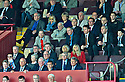FORMER RANGERS' BOSS WALTER SMITH WATCHES FROM THE STAND
