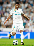Real Madrid's Carlos Henrique Casemiro during Champions League Group H match 1. September 13,2017. (ALTERPHOTOS/Acero)