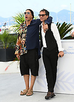 CANNES, FRANCE. July 10, 2021: JoeyStarr & Samuel Benchetrit at the photocall for Love Songs for Tough Guys at the 74th Festival de Cannes.<br /> Picture: Paul Smith / Featureflash