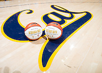 California honors Brittany Boyd and Reshanda Gray with 1000th career points before start of women's basketball game against Arizona at Haas Pavilion in Berkeley, California on February 14th, 2014. California defeated Arizona 65 - 49