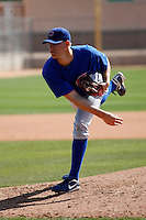 Aaron Shafer - Chicago Cubs - 2009 spring training.Photo by:  Bill Mitchell/Four Seam Images