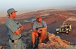 Guides dans le parc national de la Keleton Coast (s'étendant sur 500 km) Namibie. Afrique.Namibia; Africa