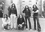 Deep Purple 1973 Jon Lord, Glenn Hughes, David Coverdale, Ian Paice, Ritchie Blackmore.© Chris Walter.
