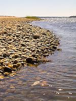 Rocky shoreline<br />