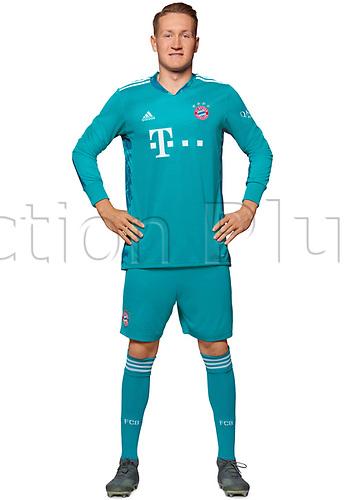 26th October 2020, Munich, Germany; Bayern Munich official seasons portraits for season 2020-21;  Goalkeeper Ron-Torben Hoffmann