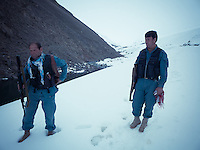 The Afghan National Police is the primary national police force in Afghanistan. It serves as a single law enforcement agency all across the country. Those policemen served as an escort in Paryan district, northern Panjshir province, not far from a smugglers road between Nuristan and Badakhshan.