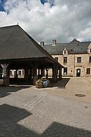 Europe/France/Bretagne/56/Morbihan/ Questembert: Les Halles  17° siècle
