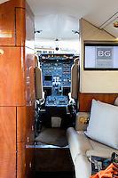 luxury jet interior