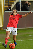 Benfica's midfielder Andreia Faria pictured during a female soccer game between RSC Anderlecht Dames and Portugese Benfica Ladies  in the second qualifying round for the Uefa Womens Champions League of the 2020 - 2021 season , Wednesday 18 th of November 2020  in ANDERLECHT , Belgium . PHOTO SPORTPIX.BE | SPP | DIRK VUYLSTEKE