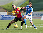 Partick Thistle v St Johnstone…10.09.16..  Firhill  SPFL<br />Chris Millar and Sean Welsh<br />Picture by Graeme Hart.<br />Copyright Perthshire Picture Agency<br />Tel: 01738 623350  Mobile: 07990 594431