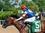 July 4, 2021: Original, ridden by Luis Saez, wins the 2021 running of the Manila S. at Belmont Park in Elmont, NY. Sophie Shore/ESW/CSM