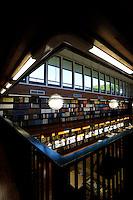La biblioteca dell' accademia di Danimarca..The library of the Academy of Denmark.