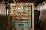 The Control Panel for the Laundry Room at the Grossinger's Resort in Liberty New York