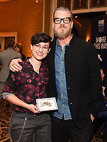 2020 FOX WINTER TCA: L-R: DEPUTY cast members Bex Taylor-Klaus and Brian Van Holt celebrate at the FOX WINTER TCA ALL-STAR PARTY during the 2020 FOX WINTER TCA at the Langham Hotel, Tuesday, Jan. 7 in Pasadena, CA. © 2020 Fox Media LLC. CR: Frank Micelotta/FOX/PictureGroup