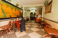Africa, Marocco,Tiznit,restaurant