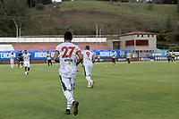 RIONEGRO - COLOMBIA, 10-08-2021: Águilas Doradas Rionegro y Patriotas Boyacá en partido por la fecha 4 de la Liga BetPlay DIMAYOR II 2021 jugado en el estadio Alberto Grisales de la ciudad de Rionegro. / Aguilas Doradas Rionegro and Patriotas Boyaca in match for the date 4 as part of BetPlay DIMAYOR League II 2021 played at Alberto Grisales stadium in Rionegro city. Photo: VizzorImage / Juan Agusto Cardona / Cont