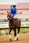 AUGUST 20, 2021: Mo Forza with Flavien Prat defeats Smooth Like Strait and Umberto Rispoli to win the Del Mar Mile at Del Mar Fairgrounds in Del Mar, California on August 20, 2021. Evers/Eclipse Sportswire/CSM