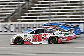 #20: Erik Jones, Joe Gibbs Racing, Toyota Camry Sport Clips, #15: Reed Sorenson, Premium Motorsports, Chevrolet Camaro Xchange of America