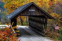 Keniston Covered Bridge, Andover, New Hampshire, USA.