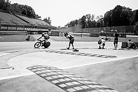 Jan Barta (CZE/Bora-Hansgrohe) out on the Autodromo Nazionale (Monza Race Circuit) for the closing time trial into Milano<br /> <br /> stage 21: Monza - Milano (29km)<br /> 100th Giro d'Italia 2017