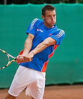 2013-08-17, Netherlands, Raalte,  TV Ramele, Tennis, NRTK 2013, National Ranking Tennis Champ,  Pedro Mol<br /> <br /> Photo: Henk Koster