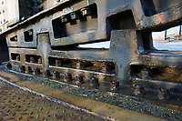 Brueckenteil einer Klappbruecke: EUROPA, DEUTSCHLAND, HAMBURG, (EUROPE, GERMANY), 20.12.2012: Brueckenteil der Klappbruecke ueber den oestlichen Bahnhofskanal.
