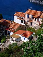 Blick auf Zanca, Elba, Region Toskana, Provinz Livorno, Italien, Europa<br /> Zanca, Elba, Region Tuscany, Province Livorno, Italy, Europe