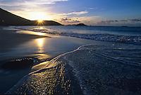 Sunset from Cinnamon Bay<br /> Virgin Islands National Park<br /> St John, US Virgin Islands