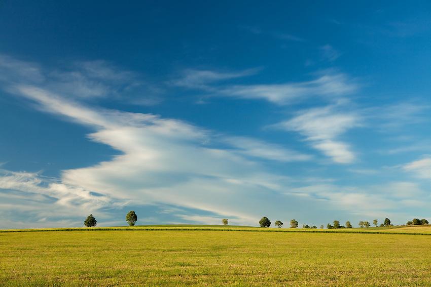 Europa, DEU, Deutschland, Hessen, Rhoen, Hessische Rhoen, Typische Landschaft, Baeume, Himmel, Wolken, Wolkenstimmung, Kategorien und Themen, Natur, Umwelt, Landschaft, Landschaftsfotos, Landschaftsfotografie, Landschaftsfoto, Tourismus, Touristik, Touristisch, Touristisches, Urlaub, Reisen, Reisen, Ferien, Urlaubsreise, Freizeit, Reise, Reiseziele, Ferienziele<br /> <br /> [Fuer die Nutzung gelten die jeweils gueltigen Allgemeinen Liefer-und Geschaeftsbedingungen. Nutzung nur gegen Verwendungsmeldung und Nachweis. Download der AGB unter http://www.image-box.com oder werden auf Anfrage zugesendet. Freigabe ist vorher erforderlich. Jede Nutzung des Fotos ist honorarpflichtig gemaess derzeit gueltiger MFM Liste - Kontakt, Uwe Schmid-Fotografie, Duisburg, Tel. (+49).2065.677997, ..archiv@image-box.com, www.image-box.com]