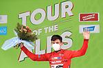 Tour of the Alps UCI Cycling Race. Feichten Im Kaunertal, Austria on April 20, 2021. Felix Engelhardt Tirol Cycling Team