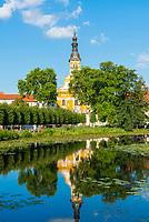 Klosterkirche St. Mariä Himmelfahrt, Kloster Neuzelle, Niederlausitz, Brandenburg, Deutschland