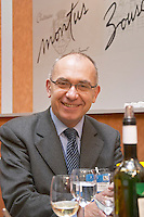 Alain Brumont, owner and winemaker at Chateau Montus and Domaine de Bouscasse Bouscassé. Madiran, France Madiran France