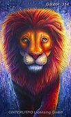 Simon, REALISTIC ANIMALS, REALISTISCHE TIERE, ANIMALES REALISTICOS, innovativ, paintings+++++RachelFroud_Lion,GBWR314,#a#, EVERYDAY