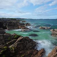 Coastal scenery at Breanais, Isle of Lewis, Outer Hebrides, Scotland