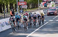 finish sprint<br /> <br /> 107th Liège-Bastogne-Liège 2021 (1.UWT)<br /> 1 day race from Liège to Liège (259km)<br /> <br /> ©kramon